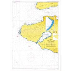 Δυτικές ακτές Ν. Λέσβου και έναντι ακτές Μ.Ασίας