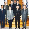 2001 President ΙΗΟ, Representatives UKHO and Italian HS under the Seapower Symposium